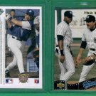 15 - Upper Deck 1991 - Card SP4 - Frank Thomas - Tom Selleck - Mr. Baseball Movie - Toploaders