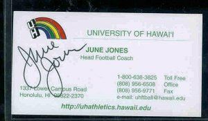 June Jones TOPPS Football 1979 + 1980 + Autograph