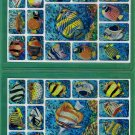120+ Hawaiian Tropical Fish Chrome Stickers