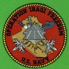 1- Operation Iraqi Freedom U.S. Navy Patch
