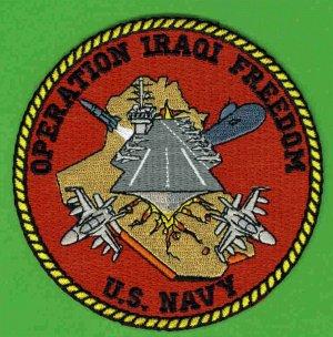 1- Operation Iraqi Freedom U.S. Navy Patch