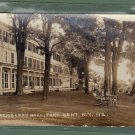 3 - Trembleau Hall - New York  - 1937 Postcards