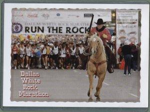 1 - Dallas White Rock Marathon Postcard - In Toploader