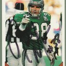 Rich Miano Autograph - Eagles - Jets - Hawaii