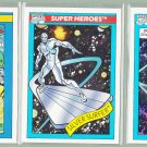 8 - Marvel Comic Cards - Silver Surfer - Impel 1990/1 - Lot D