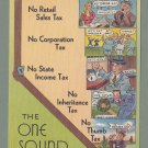 "Nevada ""One Sound State"" Postcard - Vintage"