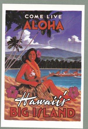 4 - Hawaii Big Island Visitors Bureau Cards