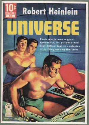 Robert Heinlein Universe - Postcard - 1995