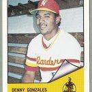 1984 Hawaii Islanders Denny Gonzales - Santo Domingo D.R.