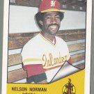 1984 Hawaii Islanders Nelson Norman - Dominican Republic