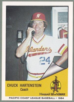 1984 Hawaii Islanders Chuck Hartenstein - Austin TX