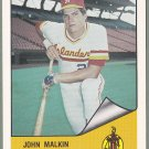 1984 Hawaii Islanders John Malkin - New York
