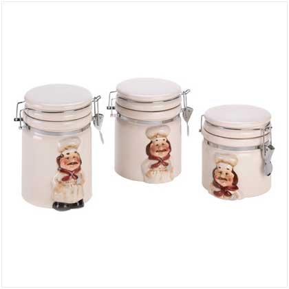 Le Chef canister Set