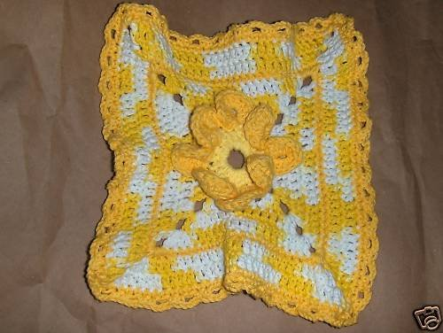 Crochet Dish Cloth Hand Made