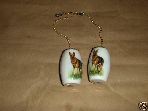 Shepherd Dog Ceiling Fan Pulls