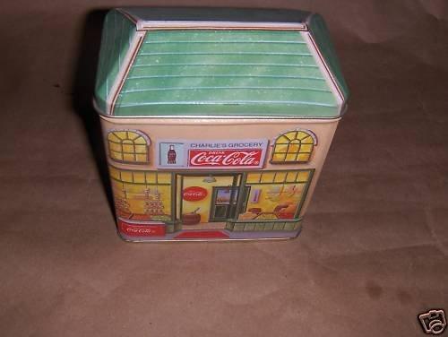 Coca Cola store tin