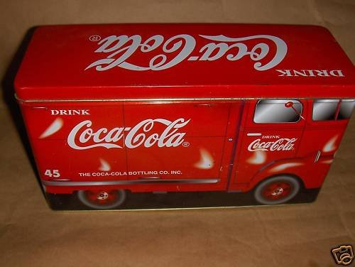 Coco coca Tin Truck
