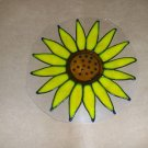 Sunflower Faux Stained Window Cling