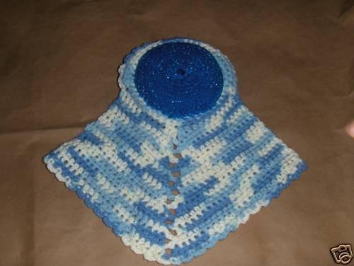 Pot Srubbie & Dish Cloth Hand Made