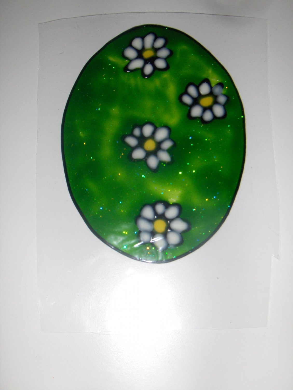 Easter Egg  Faux Stained Window Cling