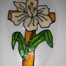 EASTER CROSS FAUX STAINED  WINDOW CLING HANDMADE #1