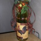 ROOSTER LIGHTED WINE BOTTLE/NIGHT/ACCIENT/LIGHT #4