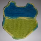 SWIMSUIT SHAPED HANDMADE DISHCLOTH