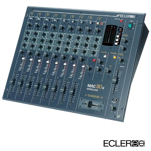 Mac 90v / 8 Kanal Club Mixer Send & Return, XLR Out