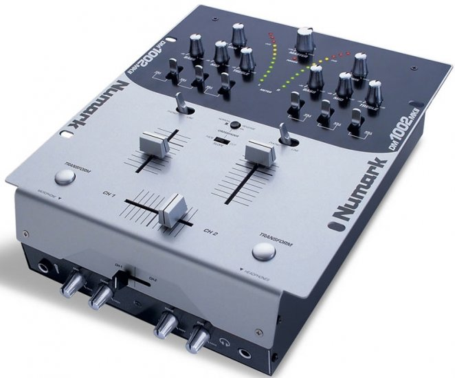 DM 1002 MKII / 2 Kanal Mixer Killswitches, Curve, 3 Band EQ