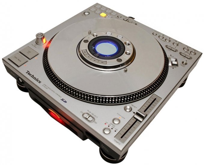 SL-DZ 1200 / DJ CD-Player Scratch, Effekte, Loop, Revers