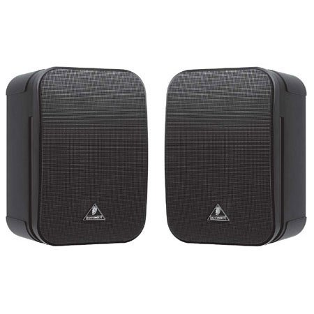 Monitor Speakers 1C ultra compact, black