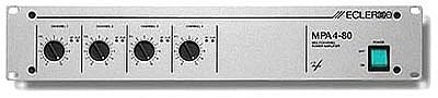 MPA 4-80 Endstufe, 4x 78 Watt / 4 Ohm