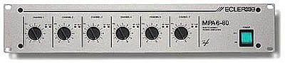 MPA 6-80 Endstufe, 6x 78 Watt / 4 Ohm