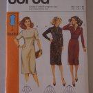 Burda Pattern 8765 Fitted Dress Size 12-14-16 Uncut Knee Length Dress