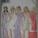 Uncut 1995 New Look Dress Pattern 6395 Size 6-8-10-12-14-16 Women's Sleeveless Summer Dress