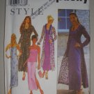 1999 Simplicity Pattern 9034 Evening Wear Size 8-10-12-14-16-18 Uncut Women's Coat Dress Top Skirt