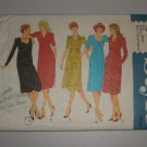 CUT Vintage Style Sewing Pattern 2864 Dress Sz 14 Women's Retro 70s Empire Waist Sweetheart Dress