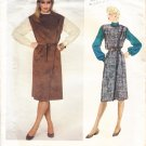 Ladies Wrap Jumper and Blouse Size 14 Uncut Vogue Pattern 2833 Retro 80s Women's Dress Set by Kasper