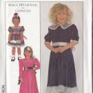 Jessica McClintock Girls' Party Dress Sz 3 Simplicity Sewing Pattern 8928 Gunne Sax Peter Pan Collar