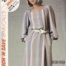 Feminine Chic Office Schoolteacher Dress Size 6-10 Uncut McCall's 8890 Stylish Retro Secretary Dress