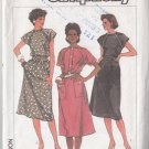 Ladylike Office Chic Schoolteacher Dress Size 8-12 Uncut Simplicity 6905 Classy 80s Secretary Dress