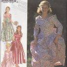 Girls' Bridesmaid Fancy Dress Sz 9-14 Style Sewing Pattern 2428 Flower Girl Puffy Princess