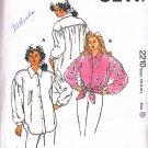 Feminine Puffy Romantic Poet's Blouse Size Xs-L Uncut Kwik Sew 2210 Crop Shirt Artsy Painter's Smock