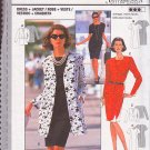 Feminine Duster Coat Sheath Dress Size 12-22 Uncut Burda 3456 Afternoon Tea Stylish Ladylike Chic