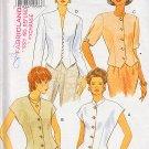 Cap Sleeve Jacket Cover-Up Tops Size 6-10 Uncut Butterick 3510 Feminine Elegant Mod Chic Stylish Top