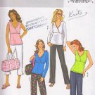 Stylish Yoga Pilates Lounge Wear Size L-XL Uncut Butterick 4404 Sporty Comfort Knit Zen Lifestyle