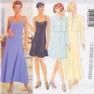 Flared Day Dress Bolero Set Size 6-12 Uncut Butterick 4798 Long Elegant Flirty Short Cropped Jacket