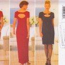 Peek-a-boo Sexy Keyhole Evening Dress Size 12-16 Uncut Butterick 5332 Glam Chic Donna Ricco New York