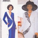 Avant Garde Asymmetrical Skirt Suit Size 8-12 Uncut Butterick 6003 Stylish Sophisticated Socialite