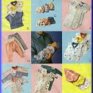 Babies' Layette Bunting Sleeper All Sizes McCall's Sewing Pattern 2490 Hat Bib Leggings Diaper Cover